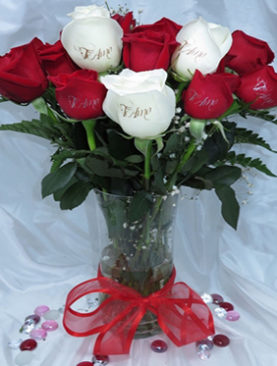 12 Roses Bouquet With