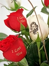 Fully Personalized Rose Bouquet